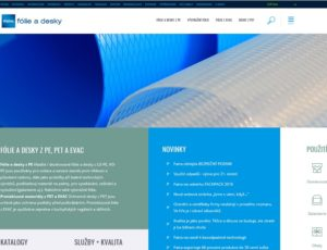 New website for EXTRUSION